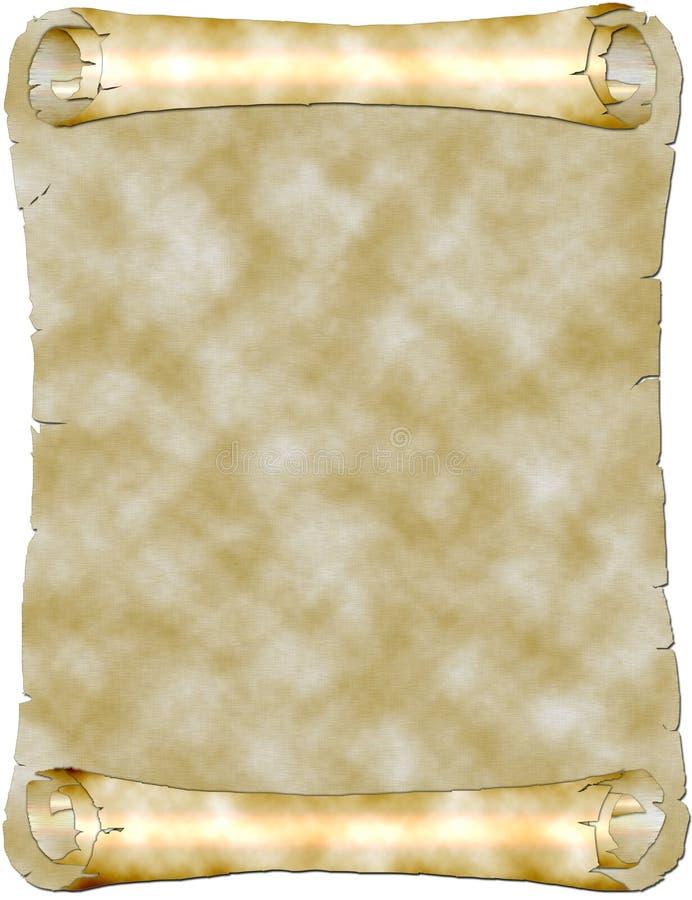 Paper scroll vector illustration