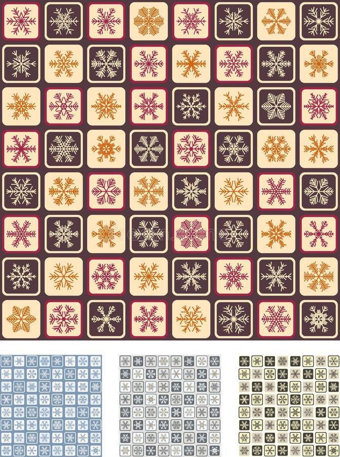 paper seamless set inpackning 2 royaltyfria bilder