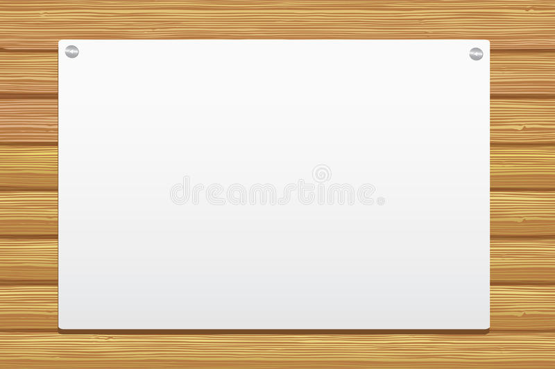 Download Paper sheet stock vector. Image of board, post, note - 26914750