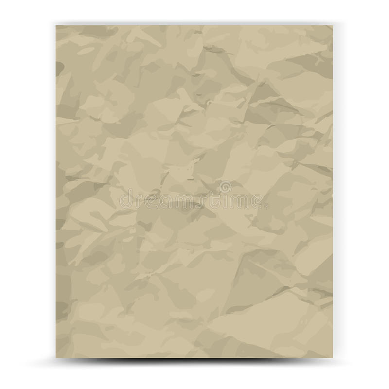 Download Paper stock image. Image of crumpled, paper, garbage - 34032587