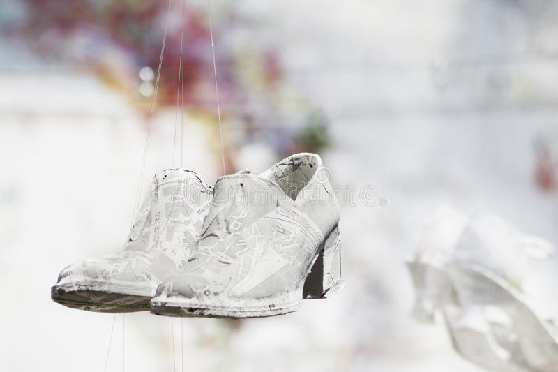 Download Paper Shoes Royalty Free Stock Images - Image: 21347399