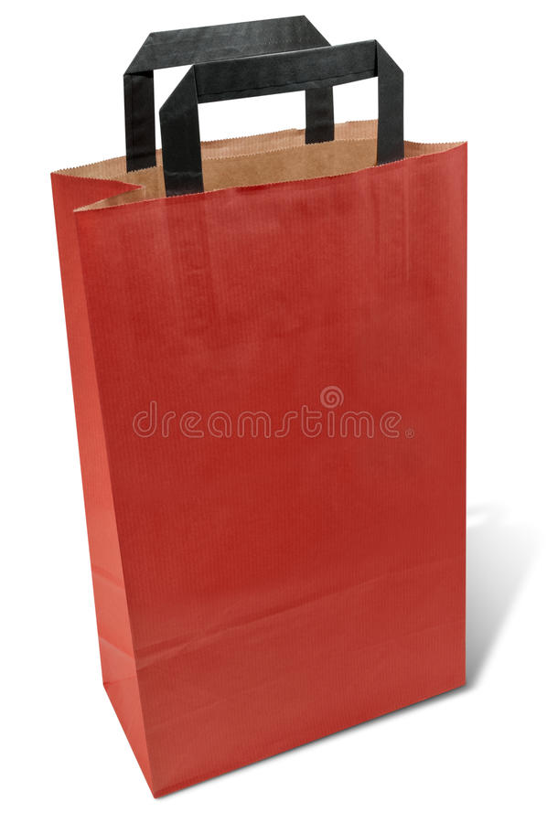 Download Paper shopping bag stock image. Image of consumer, handle - 18169621