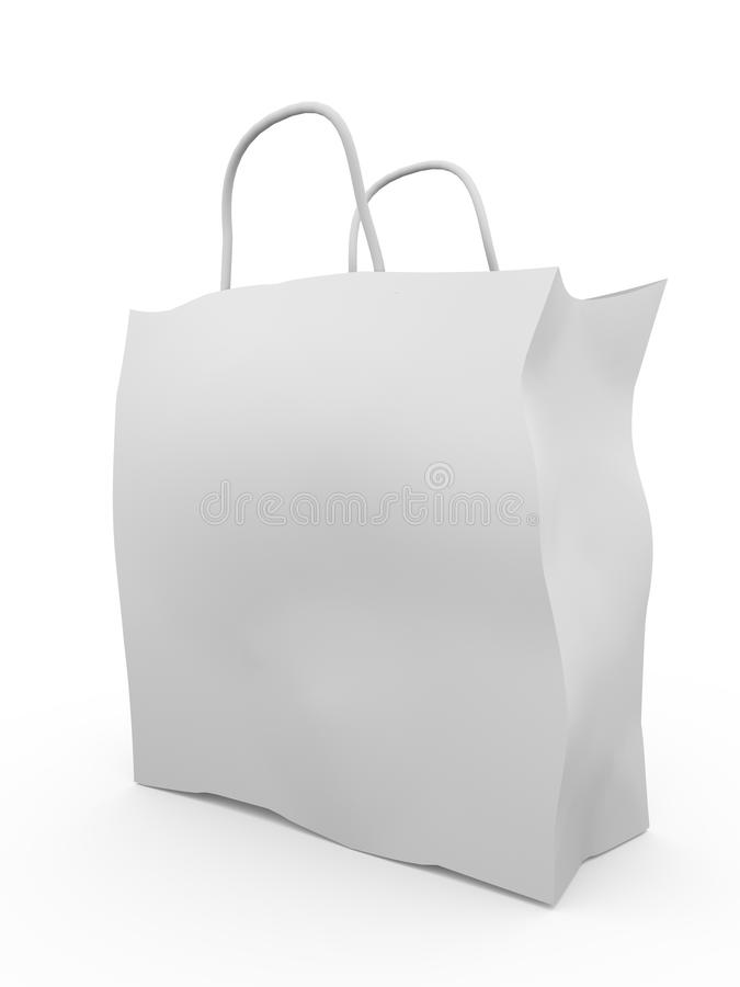 Download Paper Shopping bag stock illustration. Image of packaging - 19942483