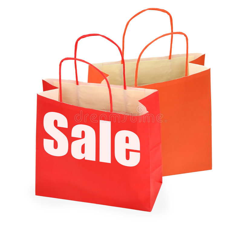 Download Paper shopping bags stock photo. Image of colourful, merchandise - 5616626