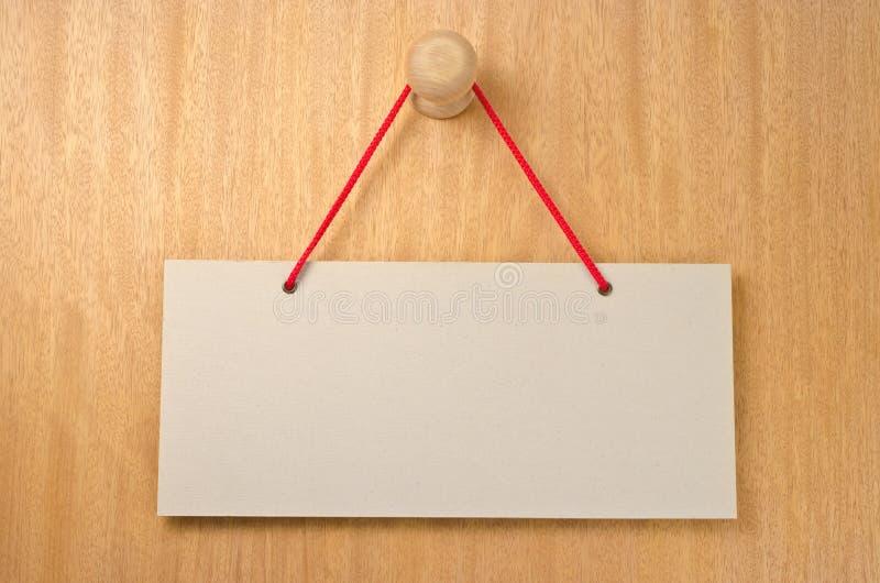 Paper signboard stock photos