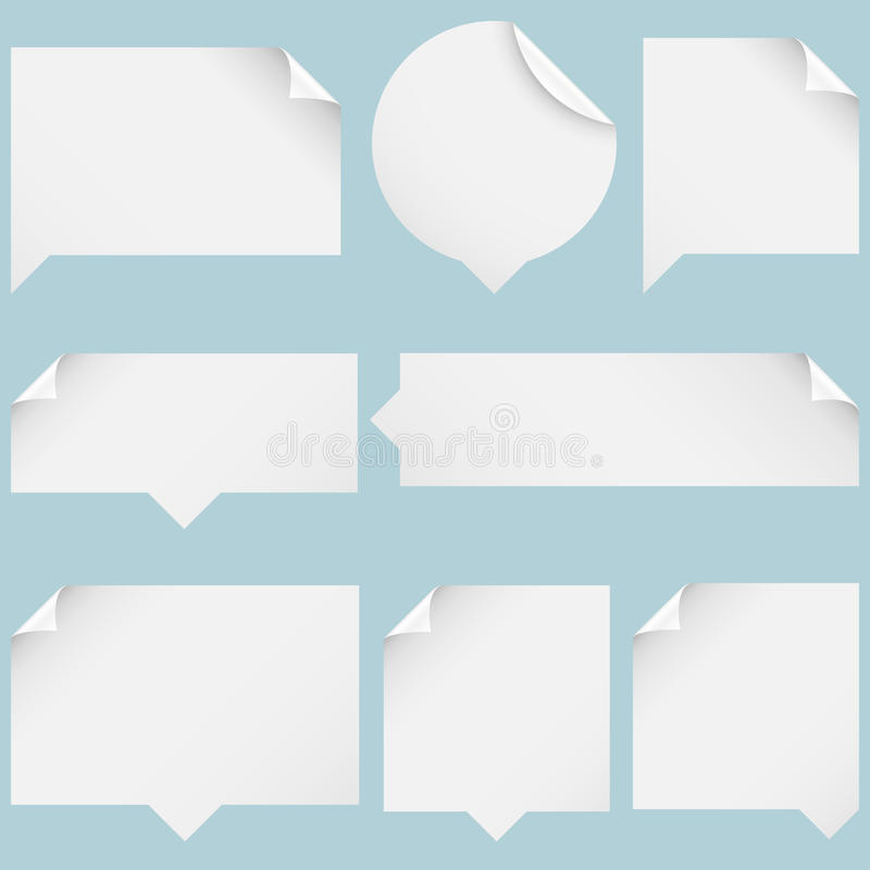 Download Paper Speech Bubbles Royalty Free Stock Photography - Image: 28853757
