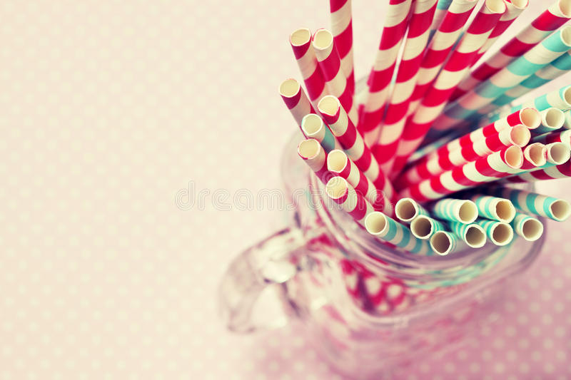 Download Paper Straws cocktail stock image. Image of dairy, background - 83703049