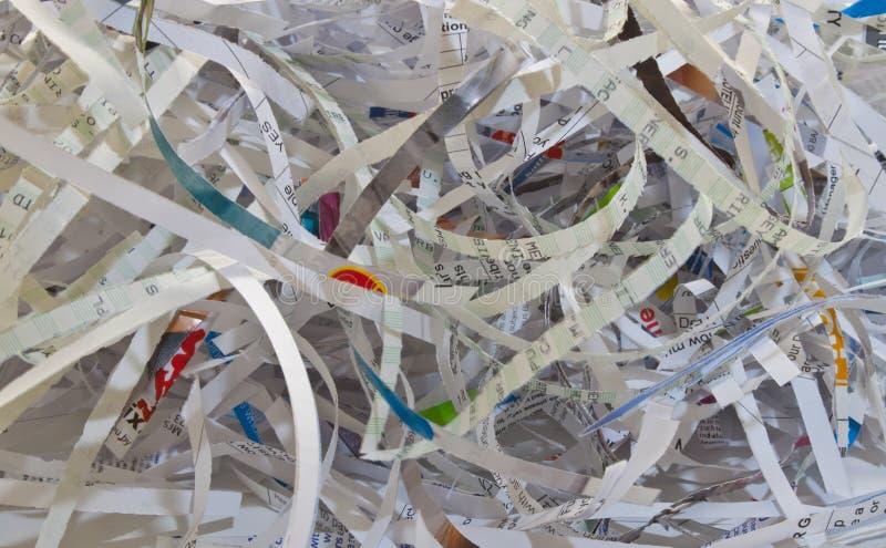 paper strimla arkivfoton
