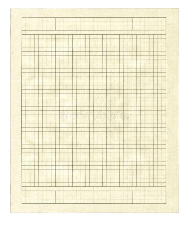 paper stycke kvadrerad yellow royaltyfri bild