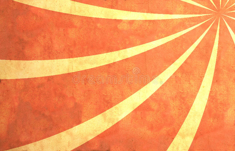Paper with sun rays vector illustration