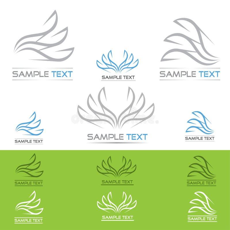 Paper symboler stock illustrationer