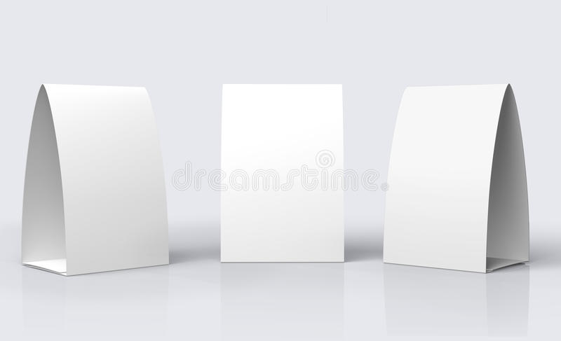 Download Paper Table Tent stock illustration. Illustration of white - 26975520  sc 1 st  Dreamstime.com & Paper Table Tent stock illustration. Illustration of white - 26975520