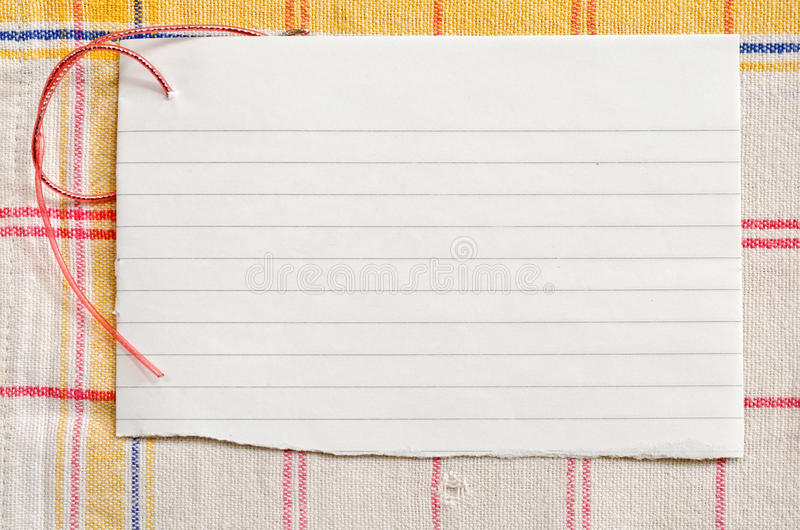Download Paper On Tablecloth Royalty Free Stock Photos - Image: 24956898