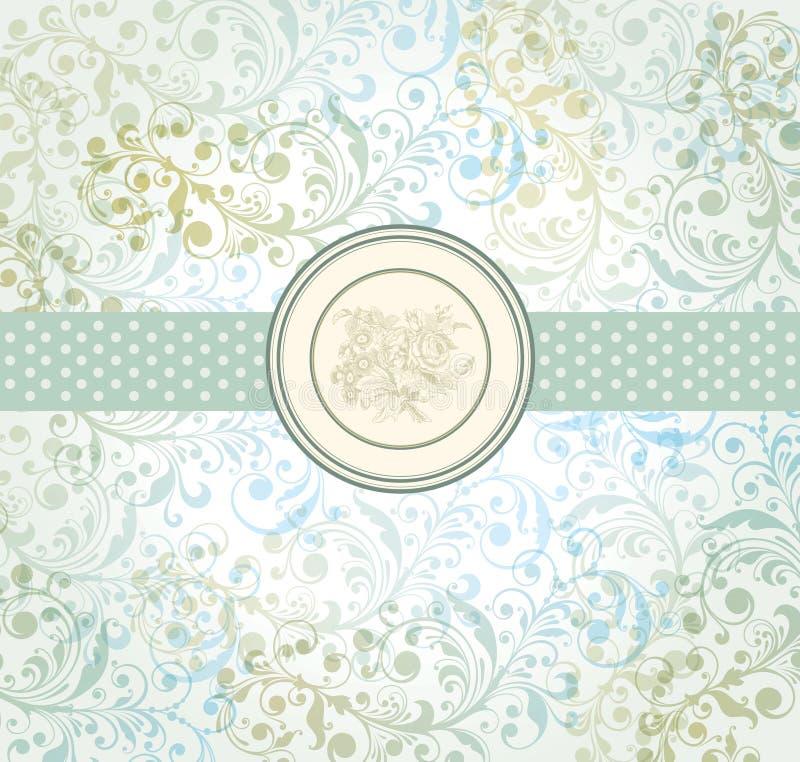 paper tappningvägg royaltyfri illustrationer
