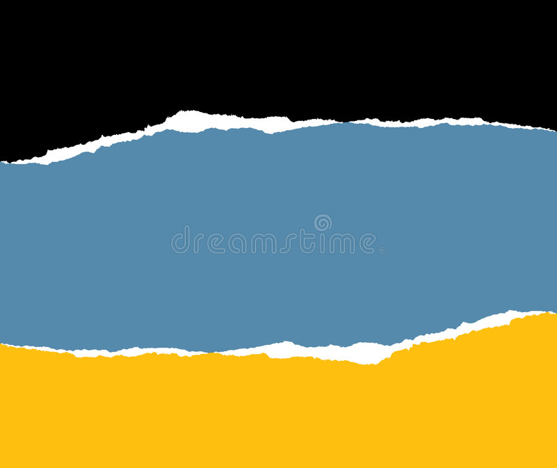 paper tear διανυσματική απεικόνιση
