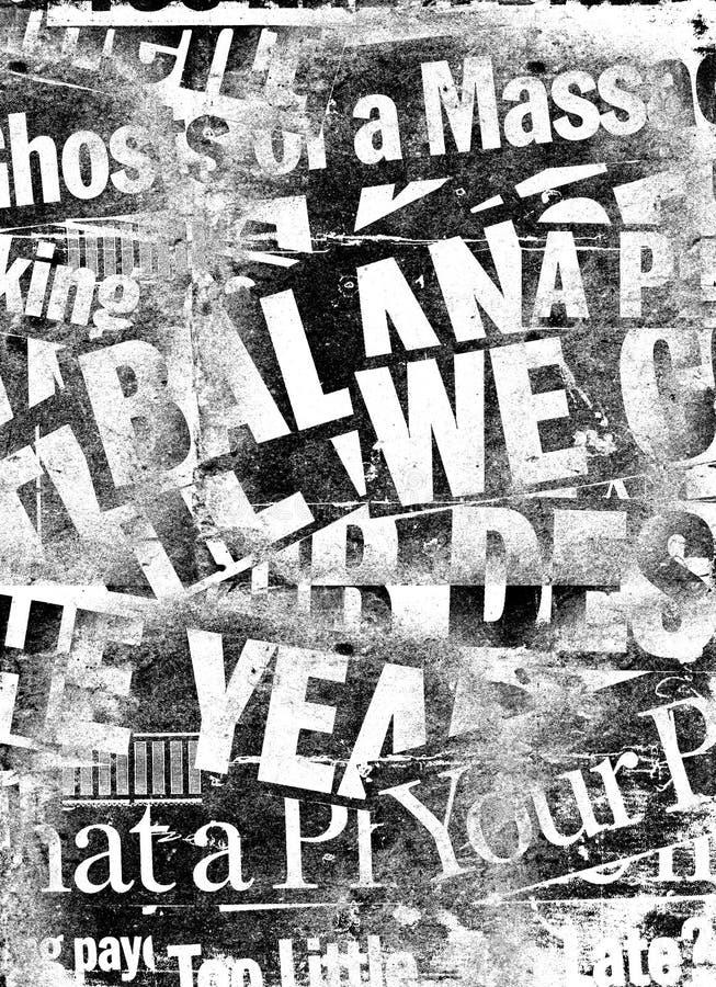 paper text för nyheterna fotografering för bildbyråer