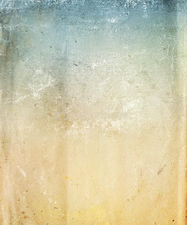 Paper texture. Texture - a sheet of the old, soiled paper vector illustration