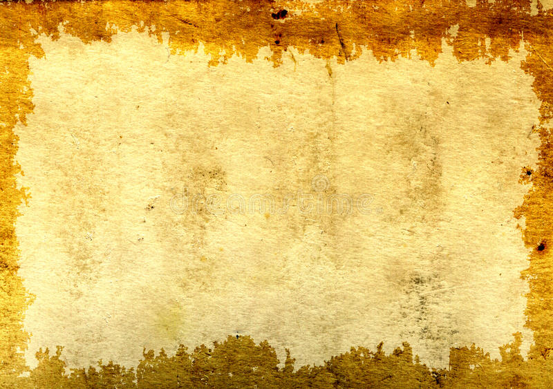 Paper texture. Background - a texture of the old, soiled paper stock illustration