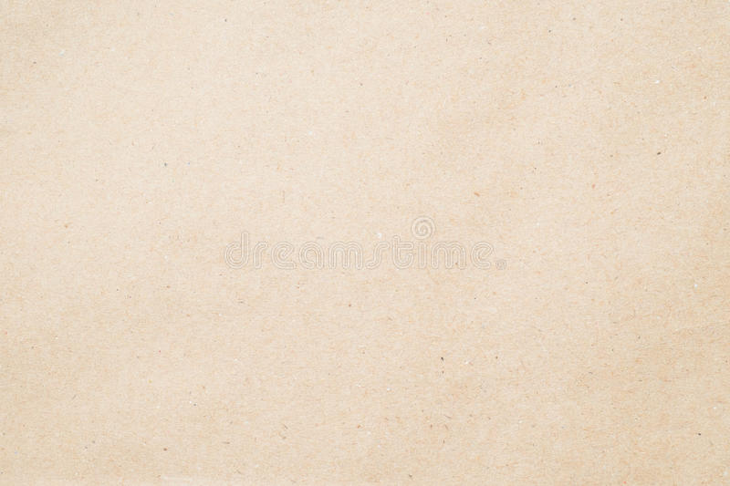 Paper texture - brown paper sheet. stock image