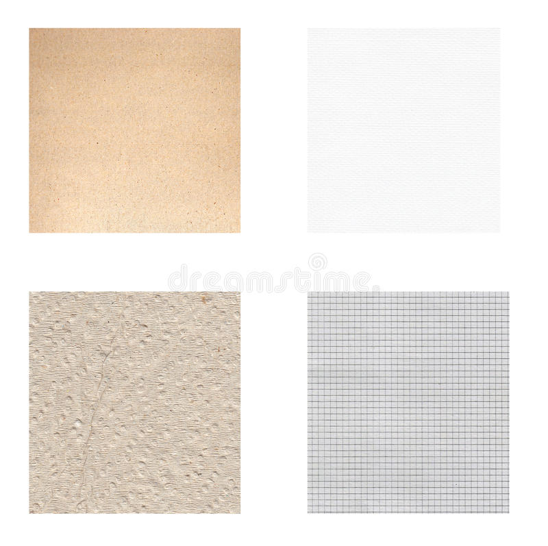 Paper textures royalty free stock photography