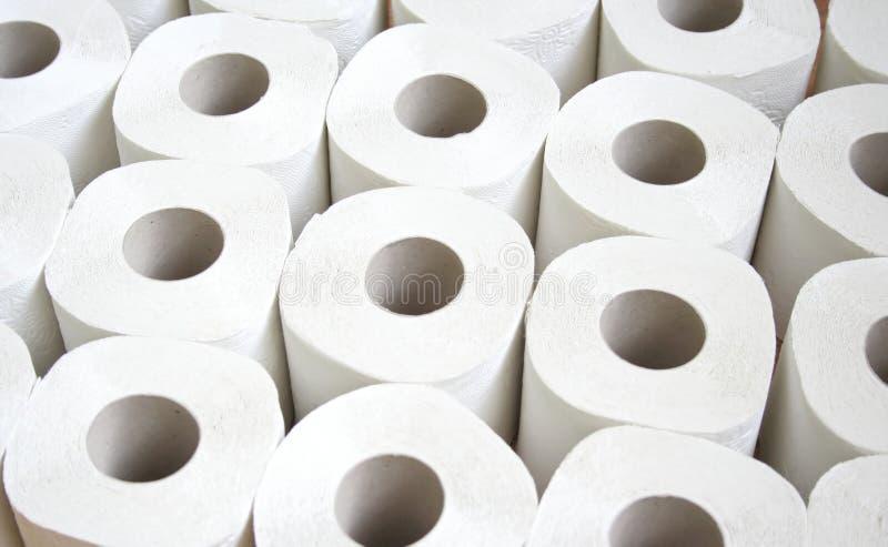 paper toalett fotografering för bildbyråer