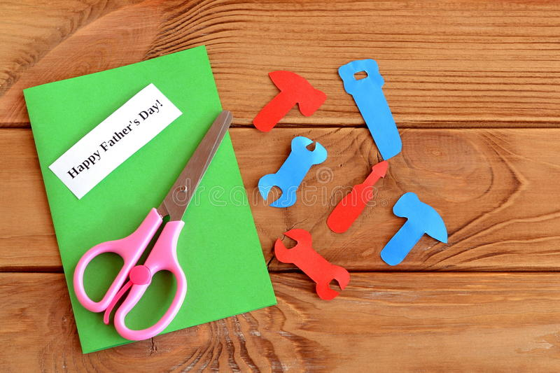 Paper tools scissors set for greeting card fathers day happy download paper tools scissors set for greeting card fathers day happy fathers day m4hsunfo