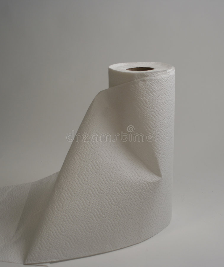 Paper towels stock photo