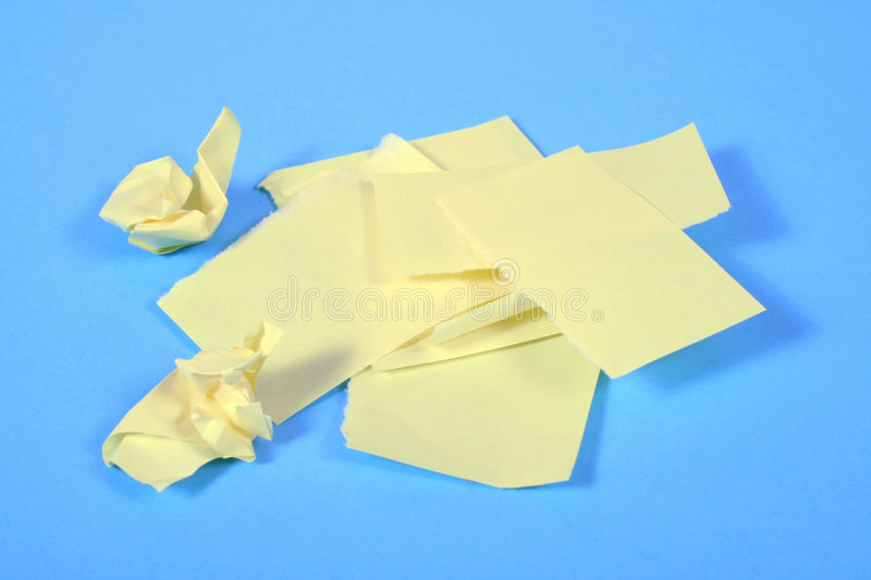 Paper trash royalty free stock photography