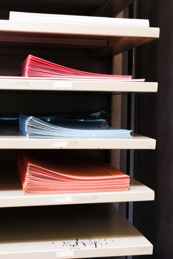 Paper tray #1 stock images