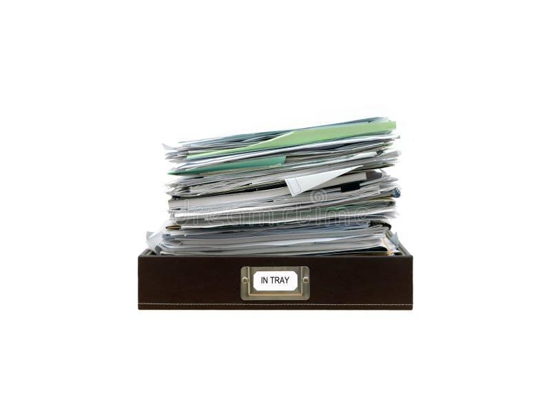 Paper Tray royalty free stock photos