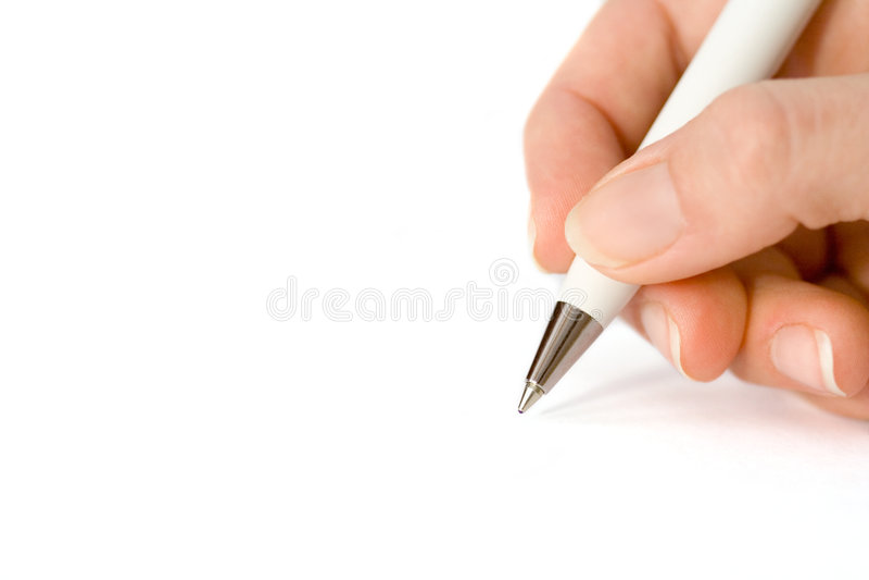 paper vit writing arkivfoton