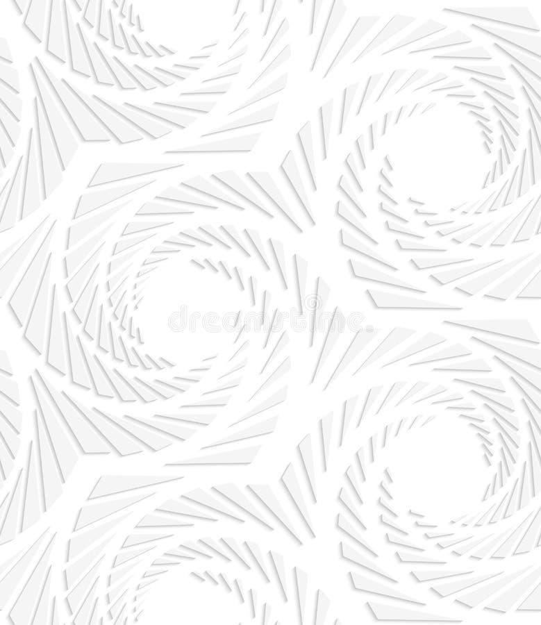 white paper hexagons line stock illustration  illustration of dust