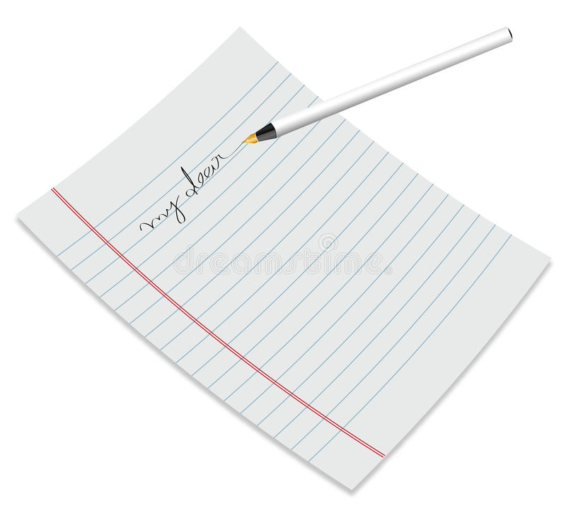 Free Paper With Pen Stock Photography - 12052922