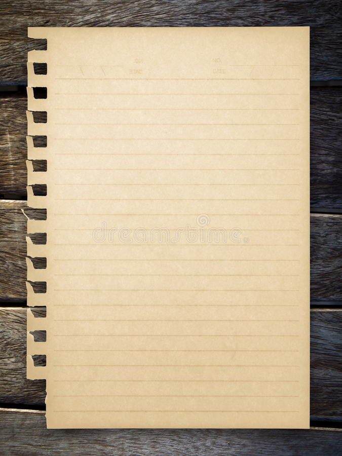 Download Paper on wood stock image. Image of sheet, blank, letter - 22247881