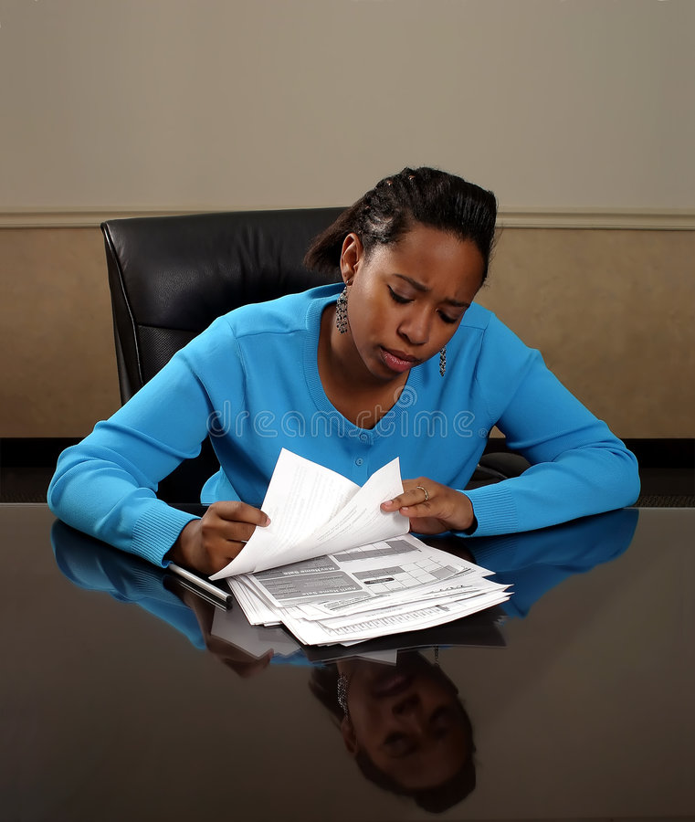 Paper Work stock images