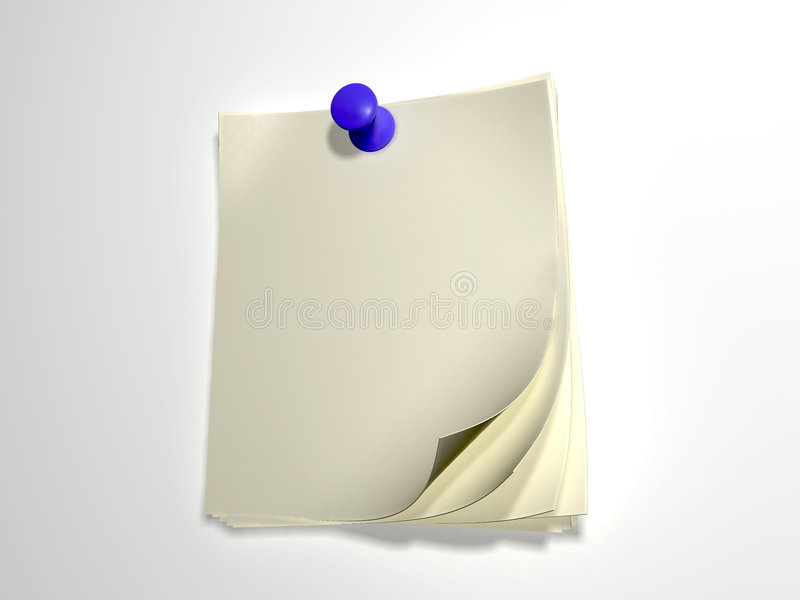 Paper for writing vector illustration