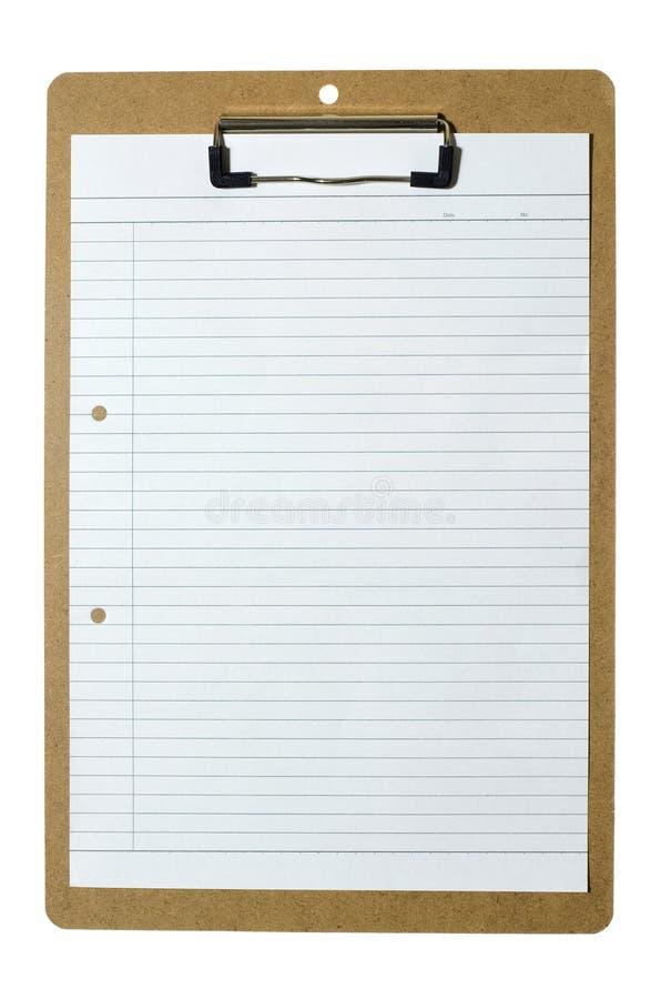 paper writing för clipboard fotografering för bildbyråer