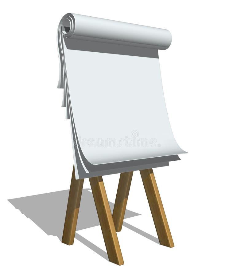 Paperboard royalty ilustracja