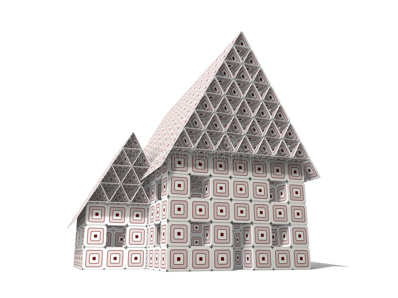 Paperboard House royalty free stock photography