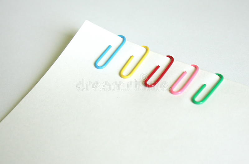 Download Paperclip stock image. Image of holding, objects, plain - 15534911