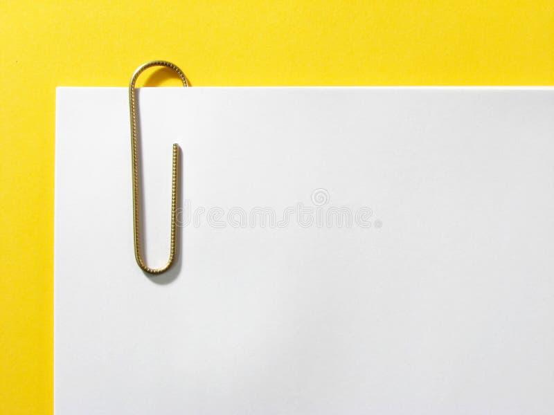 Paperclip stock afbeeldingen
