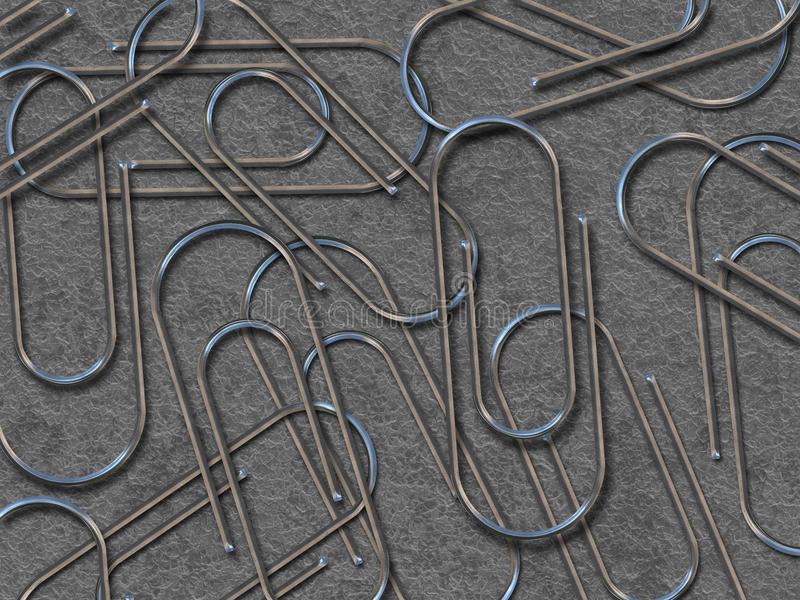 Download Paperclips stock illustration. Illustration of object - 12453069