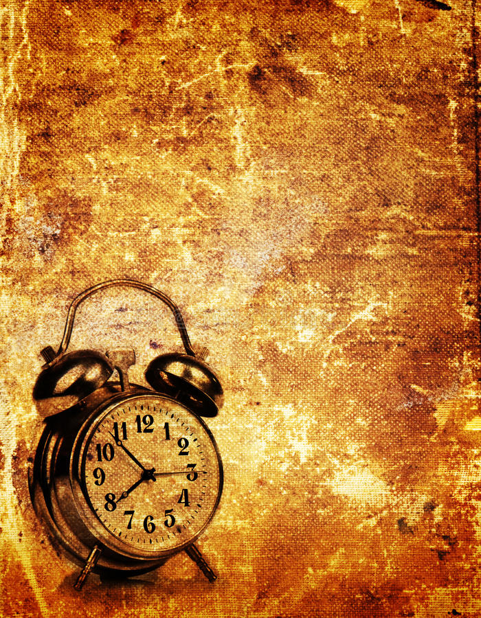 Free Papers Clock Royalty Free Stock Photo - 21948935