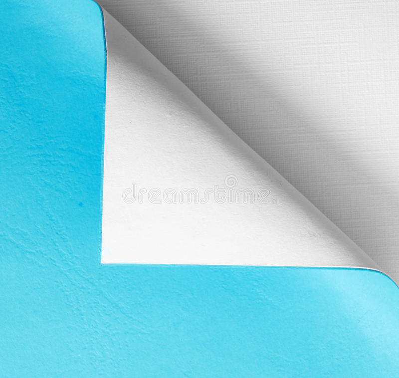 Papers with a curl royalty free stock photography