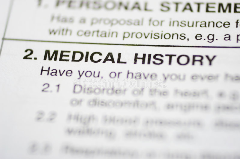 Download Paperwork #1 - Medical History Stock Image - Image: 141621