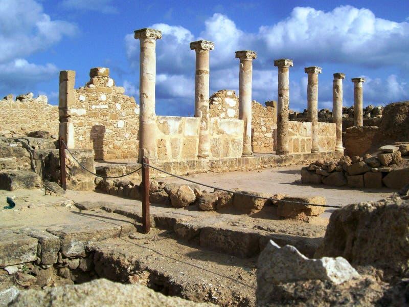 paphos antichi fotografia stock libera da diritti