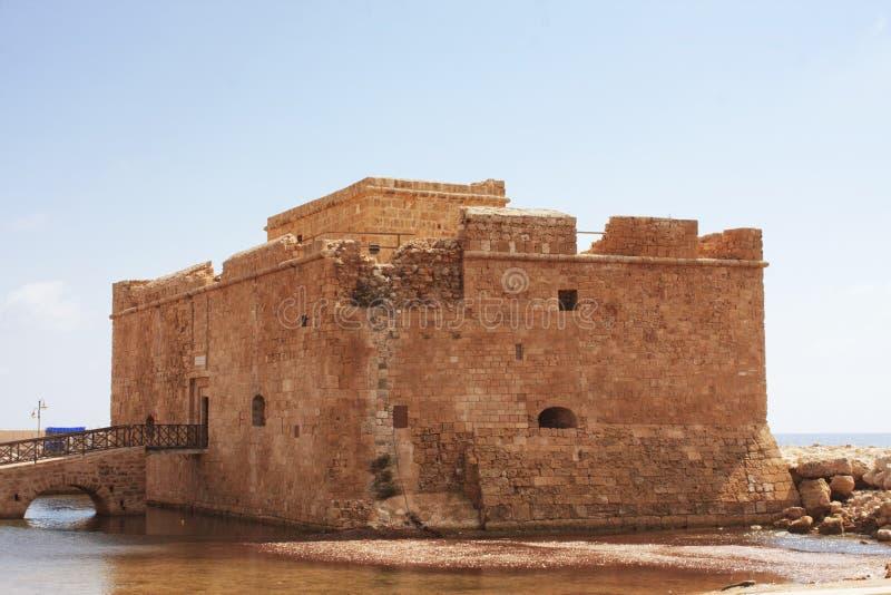 Download Paphos castle stock image. Image of orange, historic - 17074577