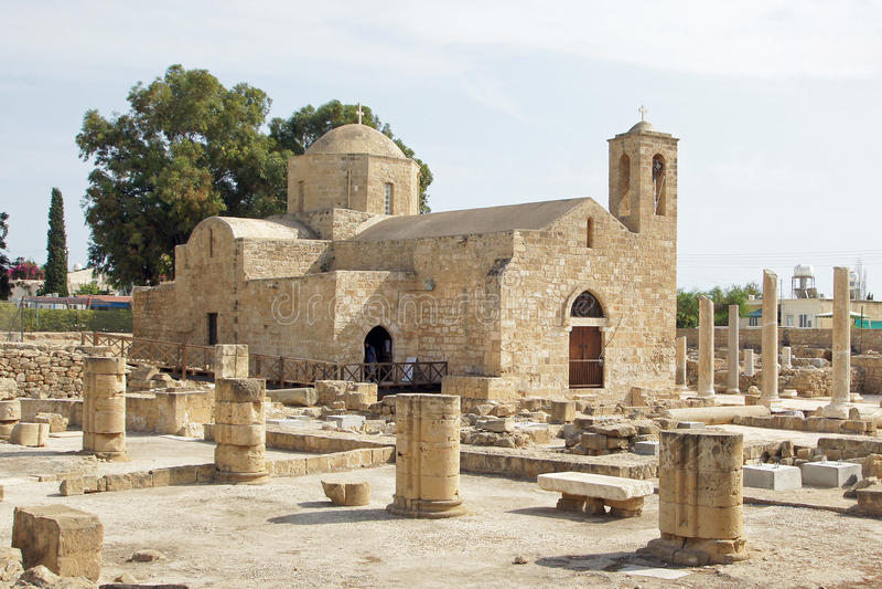 Paphos, Cypr, Europa obrazy royalty free