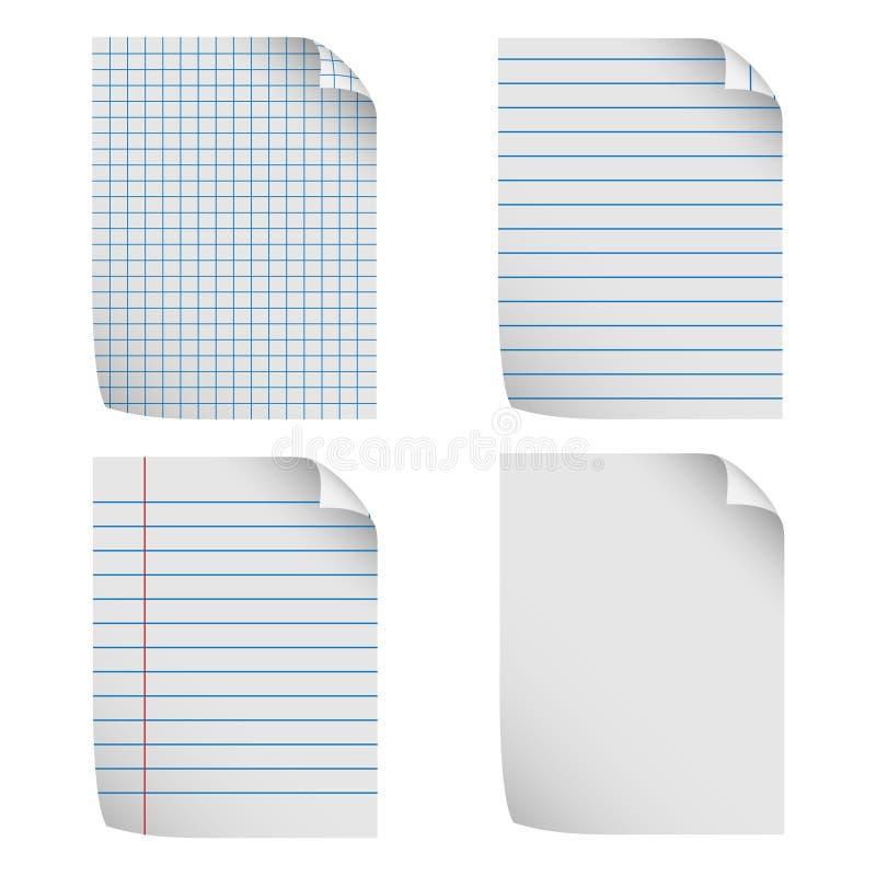 Papier à lettres illustration stock