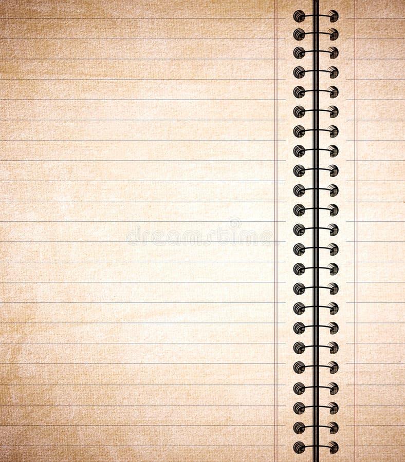 Papier à lettres sale illustration de vecteur